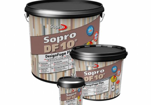 Sopro Voegmortel Sopro DF 10 Flexibel steengrijs nr. 22 5kg