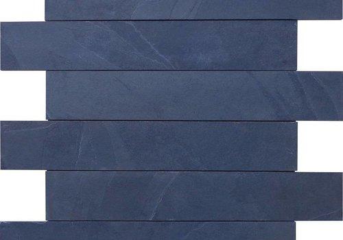 J&T Mustang black leisteen muurstroken 10cm