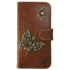 MP Case Vlinder design bedel pu leder Samsung Galaxy S8 Plus book case