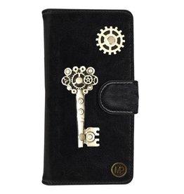 MP Case Zwart Hoesje voor Motorola Moto G5 PLUS Key Bedel
