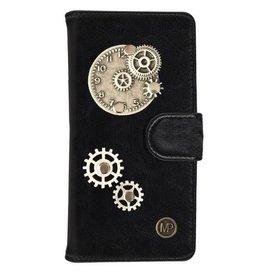 MP Case Zwart Hoesje voor Motorola Moto G5 PLUS Time Bedel