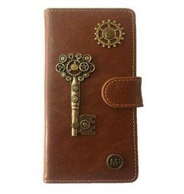 MP Case Mystiek hoesje HTC One X10 Key Bruin