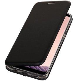 Merkloos Apple iPhone 7 Plus / 8 Plus Folio TPU hoes Zwart