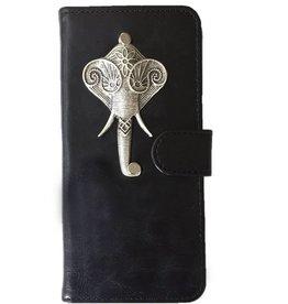 MP Case Huawei P10 Lite bookcase hoesje olifant Zilver