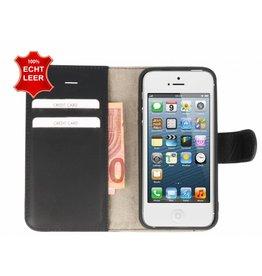 Galata Wallet case iPhone 5 / 5s / SE cover echt leer