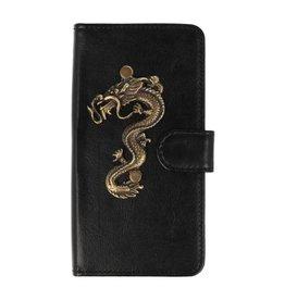 MP Case Apple iPhone 7 Plus / 8 Plus hoesje draak groot brons