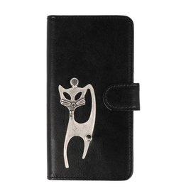 MP Case Sony Xperia XZ1 Compact hoesje kat Zilver