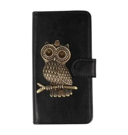 MP Case Sony Xperia XZ1 Compact hoesje uil Brons