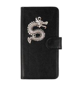 MP Case LG G5 hoesje draak Zilver