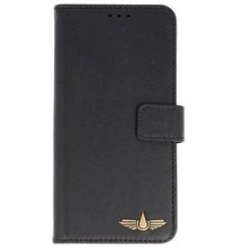 Galata Clear tpu case iPhone X/Xs Echt Leer Zwart