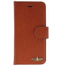 Galata Genua leder iPhone 8 / 7 hard case lizard bruin