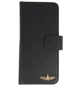 Galata Genua leder Samsung Galaxy S8 hard case zwart