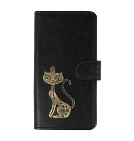 MP Case Sony Xperia XA1 Plus hoesje poesje brons