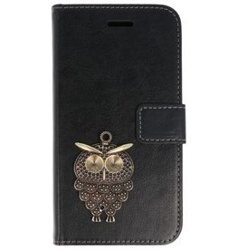 MP Case Huawei Mate 10 Pro hoesje mini uil brons