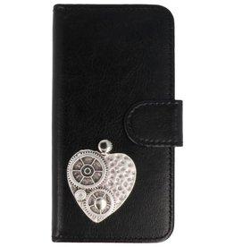 MP Case Motorola Moto X4 hoesje hart zilver