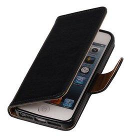 Merkloos Apple iPhone 5 5s SE Basis TPU hoesje Zwart
