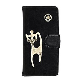 MP Case Mystiek bookcase Samsung Galaxy S9 PU Leder zwart  Kat
