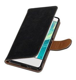 MP Case MP Case zwart bookcase voor de Sony Xperia XA wallet cover