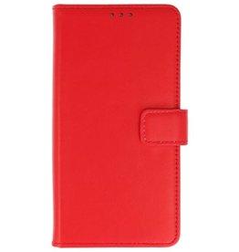 Merkloos Samsung Galaxy A8 (2018) Basis hoesje Rood