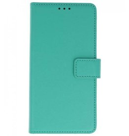 Merkloos Huawei P Smart Basis TPU bookcase groen