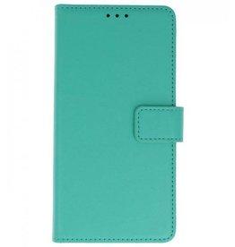 Merkloos Samsung Galaxy S9 Basis TPU bookcase groen