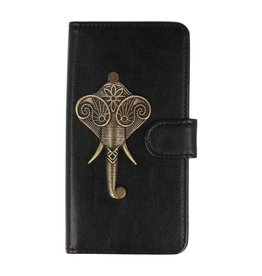 MP Case Huawei P20 bookcase olifant brons