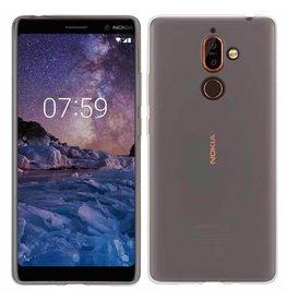 MP Case Transparant TPU Nokia 7 Plus back cover