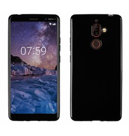 MP Case Zwart TPU Nokia 7 Plus back cover