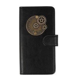 MP Case Huawei P20 Lite bookcase klok brons