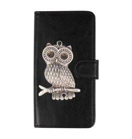 MP Case Motorola Moto E5 bookcase uil zilver