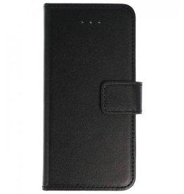 Merkloos Nokia 6 (2018) bookcase basis tpu zwart