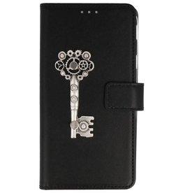 MP Case Sony Xperia XZ2 bookcase sleutel zilver