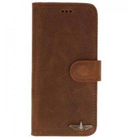 Galata Book case Samsung Galaxy A5 (2017) Vintage Roestbruin