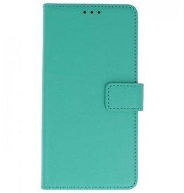 Merkloos Nokia 1 Basis TPU bookcase groen