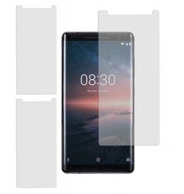 MP Case 3 Stuks Nokia 8 Sirocco Tempered Glass Screen Protector