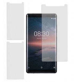 MP Case 3 Stuks panzerglass Nokia 8 Sirocco Tempered Glass Screen Protector