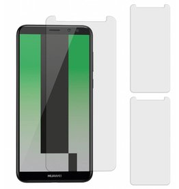 MP Case 3 Stuks Huawei Mate 10 Lite Tempered Glass Screen Protector