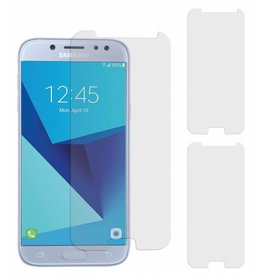 MP Case 3 Stuks Samsung Galaxy J5 2017 Tempered Glass Screen Protector