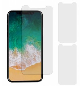 MP Case 3 Stuks iPhone X Tempered Glass Screen Protector