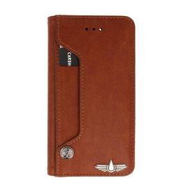 Galata Luxe pasjes booktype  iPhone 7/8+ Plus bruin