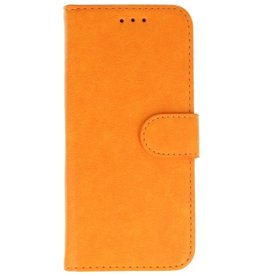 Merkloos Vintage iPhone 7 / 8 Plus bookcase orange