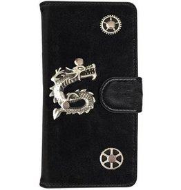 MP Case Motorola Moto G6 bookcase draak zilver