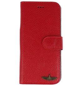 Galata Bookcase Huawei P20 echt leer rood