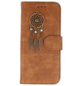 MP Case Bruin Samsung Galaxy S9+ Plus bookcase dromenvanger brons