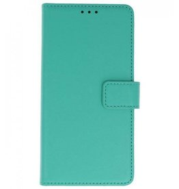 Merkloos Samsung Galaxy A6+ Plus 2018 Basis TPU bookcase groen