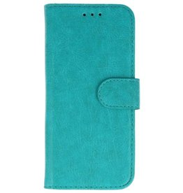Merkloos Samsung Galaxy J4 Basis TPU bookcase groen