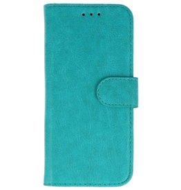 Merkloos Samsung Galaxy J8 Basis TPU bookcase groen