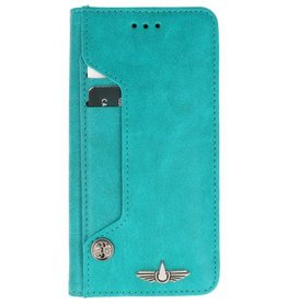 Galata Luxe pasjes Samsung Galaxy A5 2017 booktype turquoise