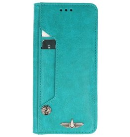 Galata Luxe pasjes booktype iPhone X turquoise