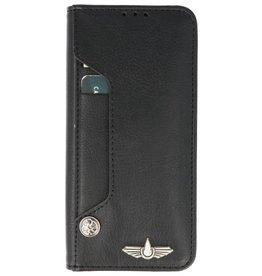 Galata Luxe pasjes Samsung Galaxy S9+ Plus booktype zwart